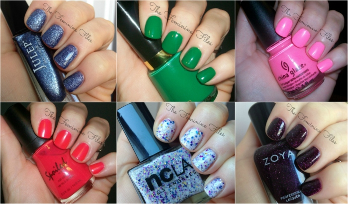 FF nail Collage